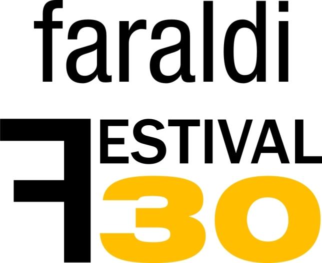 logo Festival Internazionale di Villa Faraldi XXX bianco